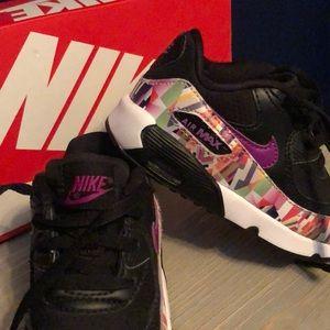 Nike Air Max 90 Print Mesh TD Size 8